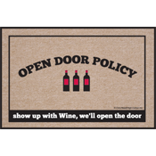 Funny Wine Gift - Wine Welcome Mat