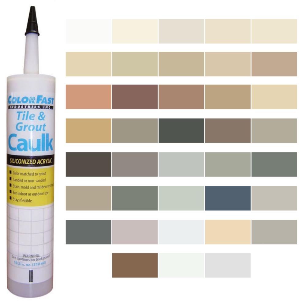 Latex Colored Caulk - SGM Caulk Color Line