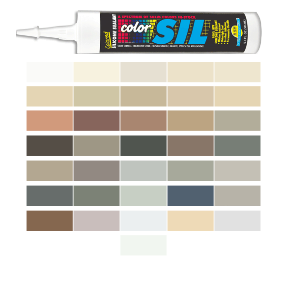 Southern Grouts and Mortars Colored Silicone Caulk