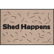 Dog Themed Doormats - Shed Happens