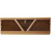 Shoemaker Brown Baseboard Register