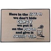 Crazy South Themed - Funny Doormat