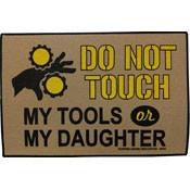 Garage Doormat - Do Not Touch