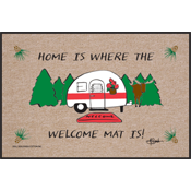 Funny Door Mat - Camper Welcome Mat