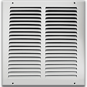 White Return Air Grilles