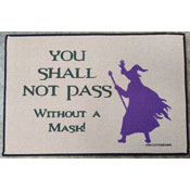 You Shall Not Pass Welcome Mat