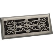 Zoroufy Decorative Antique Pewter Floor Register