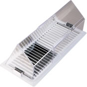 Air Deflector for Forced Air AC Systems