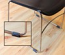 Wrap-Around Sled Style Chair Floor Protector