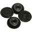 Black Thermoplastic Anti-Skid Floor Saver