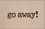 Go Away! - Welcome Mat