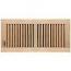 Unfinished Wood Floor Register