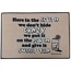 Mustache Themed Gift - Funny Doormat