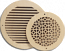 Pattern Cut Round Wall Grills