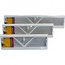 White Steel Baseboard Diffusers