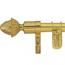 Zoroufy Legacy Adjustable Wall Hanger - Polished Brass Finish