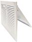 White Metal Sidewall Register