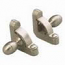 Zoroufy Heritage Collection Satin Nickel Roped Tubular Rod - Acorn Finials