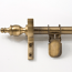 Zoroufy Classic Wall Hanger Antique Brass - Crown Finials