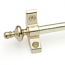 Zoroufy Select Collection Brushed Brass finish w/ Urn Finials
