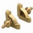 Zoroufy Heritage Collection Brushed Brass Fluted Tubular Rod - Urn Finials