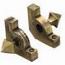 Zoroufy Sovereign Collection Antique Brass Smooth Tubular Rod w/ Pyramid Finials