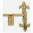 La Seine Tapestry Wall Hanger Polished Brass Finish