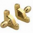 Zoroufy Heritage Collection Polished Brass Fluted Tubular Rod - Acorn Finials