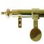 Zoroufy Grand Regency Wall Hanger Polished Brass - Urn Finial