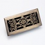 Zoroufy Decorative Antique Brass Floor Register