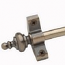 I.S. Plated Antique Brass Stair Rods - Urn Finials