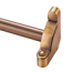 Zoroufy Heritage Collection Antique Brass 1/2 inch Smooth Tubular Rod - No Finials