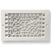Decorative Baseboard Return - Plastic Baseboard Grille