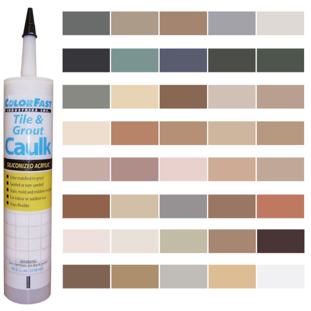 Latex Colored Caulk - C-Cure Caulk Color Line
