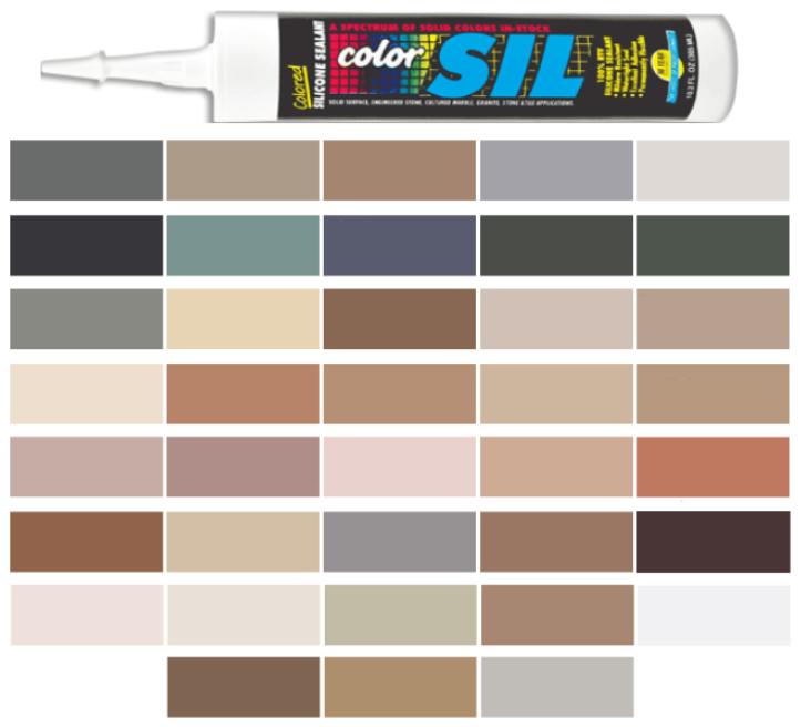 C Cure Colored Silicone Caulk