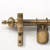 Zoroufy Classic Wall Hanger Antique Brass - Urn Finials