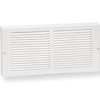 Imperial White Steel Baseboard Return Grille