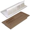 Plastic Pop Up Floor/Ceiling Register and Air Deflector