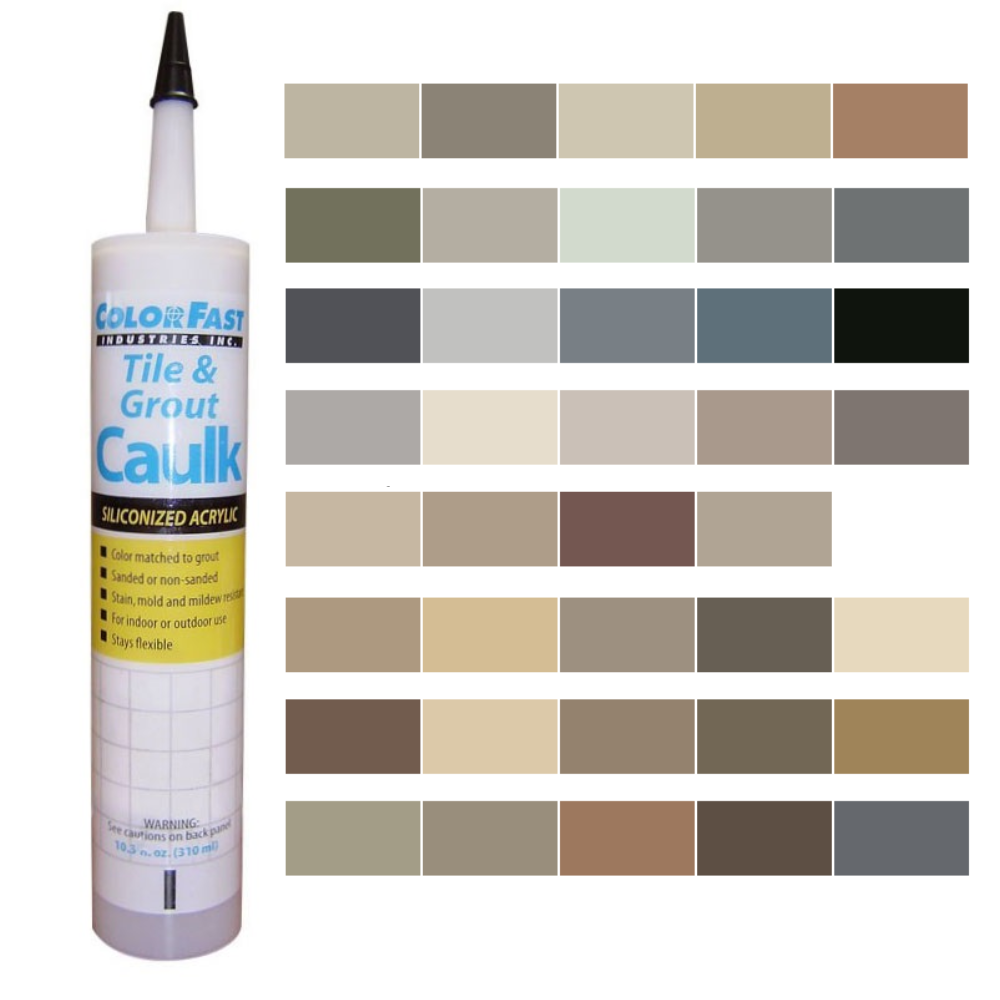 Latex Colored Caulk -  Laticrete Caulk Color Line