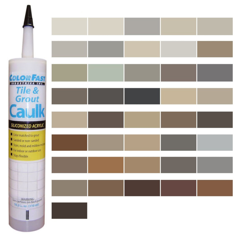 Latex Colored Caulk - Mapei Caulk Color Line