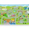 Personalized Kids Area Rug - Kidtown Car Play Rug
