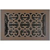 Hamilton Sinkler Scroll Bronze Patina Wall Vent