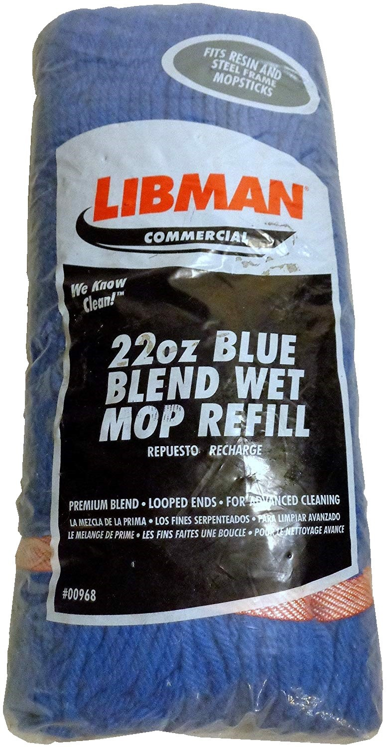 Libman Large Blue Blend Wet Mop
