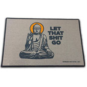 Let That Sh*t Go - Sarcastic Doormat