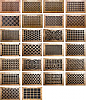 Decorative Wood Wall / Ceiling Registers