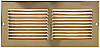 Brass Return Air Grille - Brass wall Vent