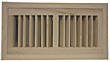 High Output Flush Wood Vent - Maple