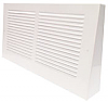 White Projection Triangular Baseboard Return