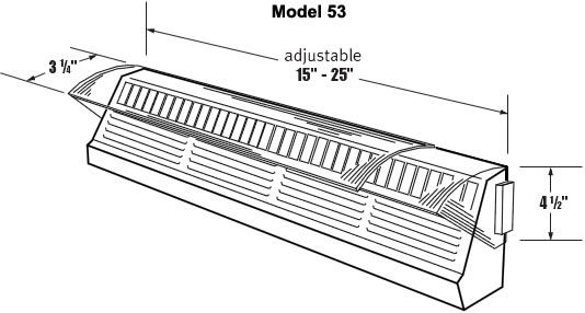 Air Deflector for Baseboard Registers