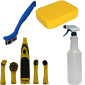 Floor Care Accessories - Floor Finish Applicator Pad & Cleaning Sponge